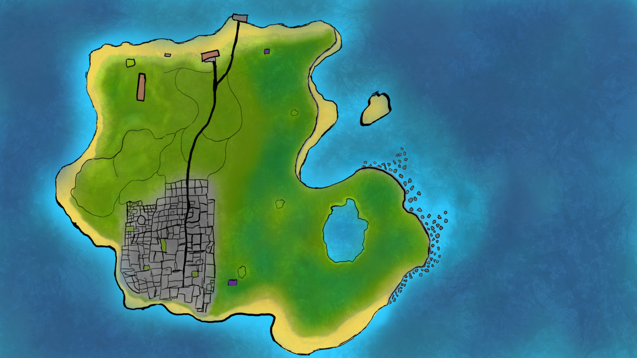 Locations Of the World of Fantasy Island Fantas10